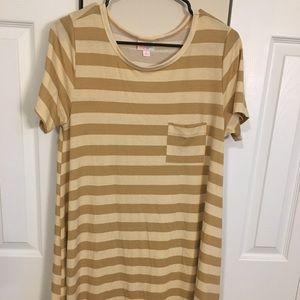 LuLaRoe Carly high lo with pocket